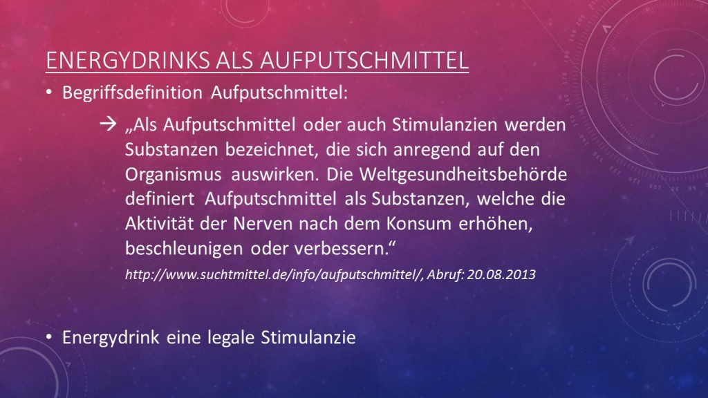 Aufputschmittel Definition
